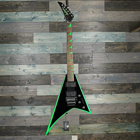 Jackson Rhoads RRX24 Black with Yellow Bevels エレキギター X Series ジャクソン