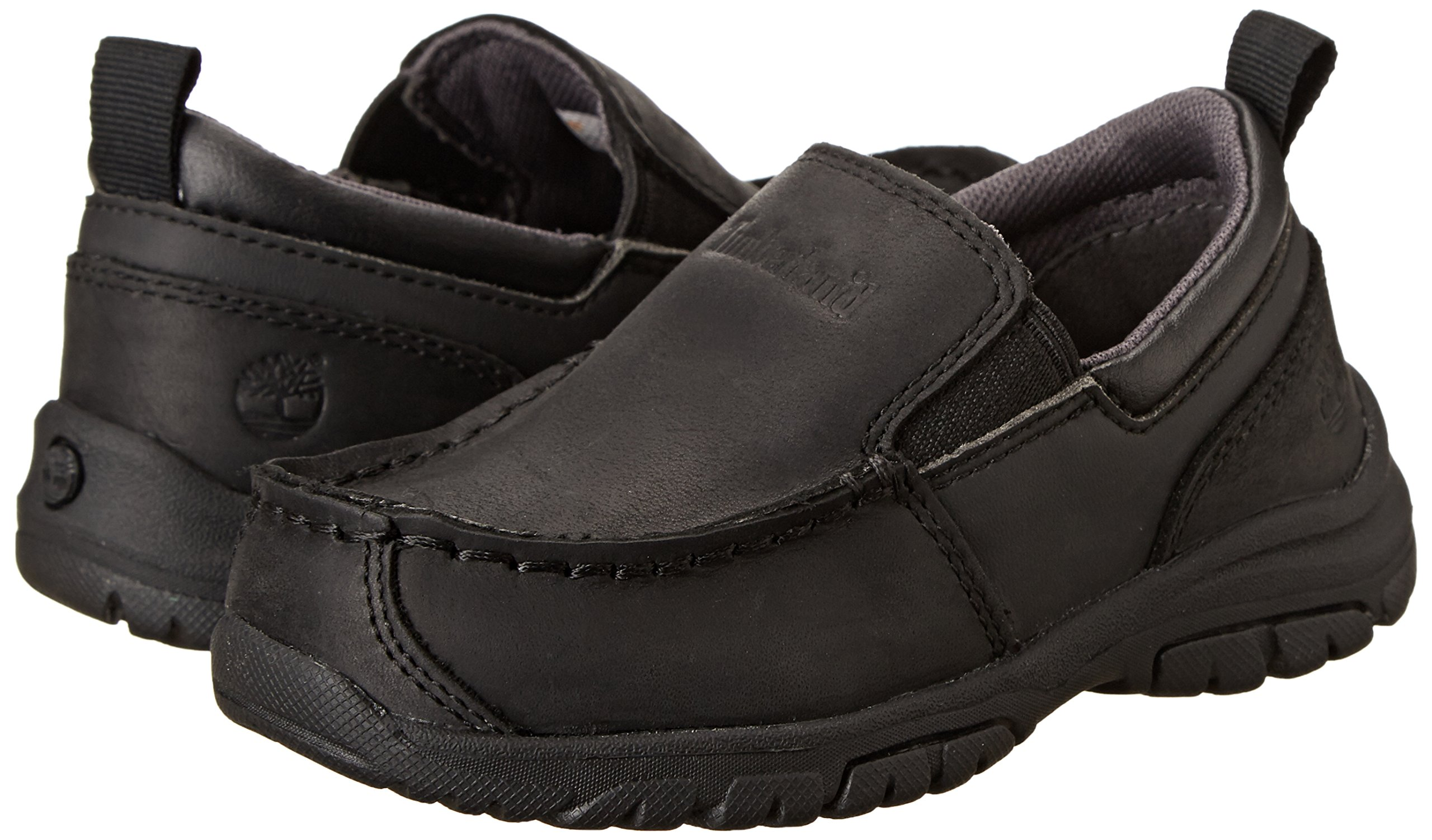 Timberland Discovery Pass Moc Toe Moc Toe Slip-On (Toddler/Little Kid/Big Kid),Black,9.5 M US Toddler by Timberland (Image #6)