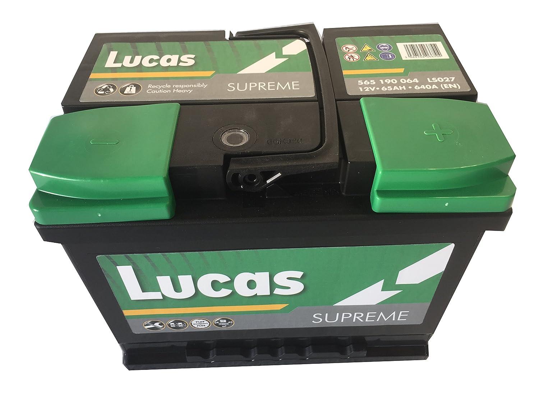 Lucas Batterie Voitures Supreme LS027 L2 12 V 65AH 640 AMPS (en)