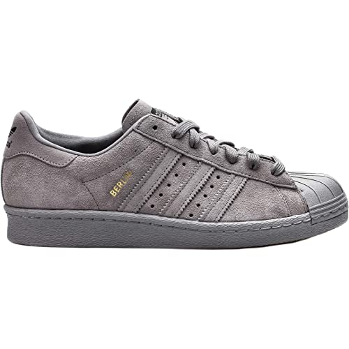 premium selection 330c6 c83b8 Amazon.com   adidas Men s SuperSatr 80s City Grey B32661 (Size  11.5)    Fashion Sneakers