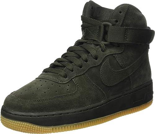 cien logo callejón  Nike - Air Force 1 High LV8 GS - 807617300 - El Color: Verde Olivo-Verdes -  Talla: 7.0: Amazon.com.mx: Ropa, Zapatos y Accesorios