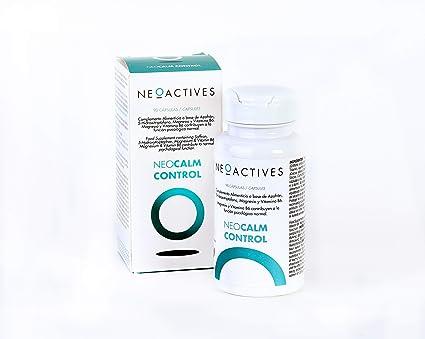 NeoCalm Control. Con 5-HTP, azafrán, magnesio y vitamina B6 ...