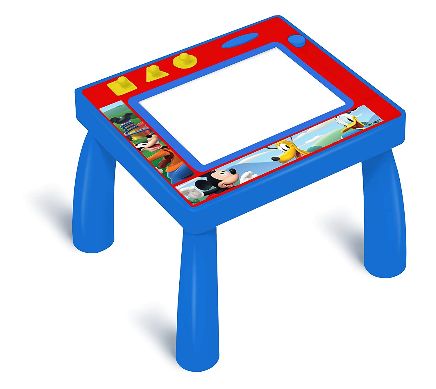Mickey and the Roadster Racers Mickey /& The Roadster Racers Stamp N Sketch Play Table Magnetic Play Table