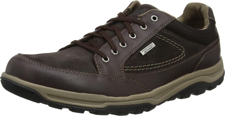 Rockport Trail Technique Waterproof Oxford Brown, Zapatos de Cordones Derby para Hombre
