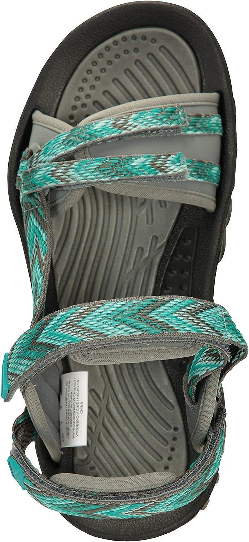 Fitnessstudio Camping Mountain Warehouse Cyprus Damensandalen Schuhe mit Neoprenfutter atmungsaktive Damenschuhe ideal f/ür Sport Mikrofaser-Fu/ßbett/überzug