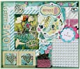 FaCraft Scrapbook Kit Teenage Girls (8x8,Green)
