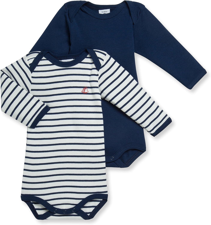 Petit Bateau Baby-Jungen Body 2erPack