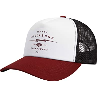 BILLABONG Hombres de Mindstate Trucker Gorro - Rojo -: Amazon.es ...