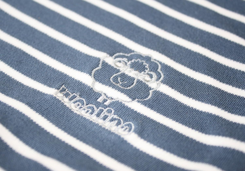 Woolino 4 Season Basic Baby Sleeping Bag, 0-6 Mo, Crowns BasicSS0-6moCrownsFBA