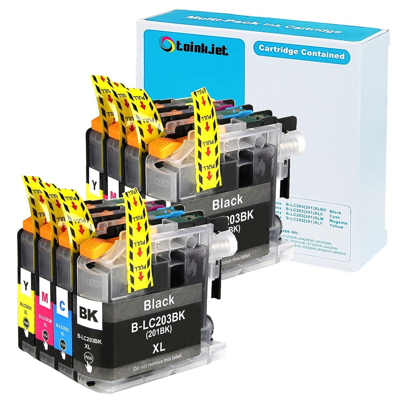 8 unidades toinkjet Compatible Cartuchos de tinta de ...
