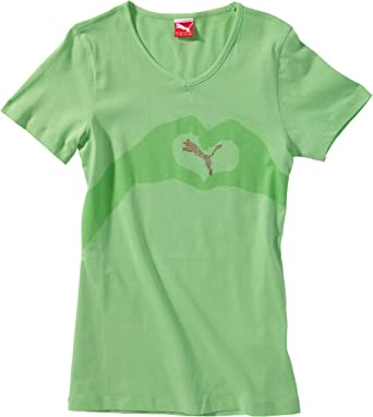 Puma - Camiseta para niña: Amazon.es: Ropa y accesorios