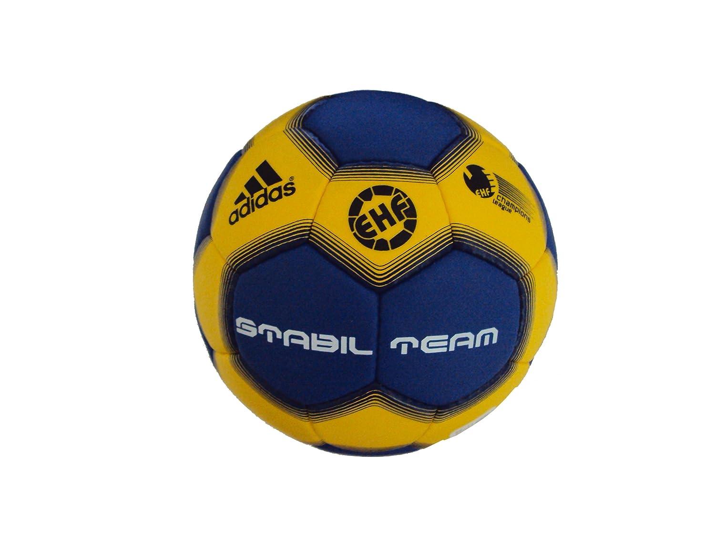 adidas - Pelota de balonmano, tamaño 3 UK, color sun/cobalt ...