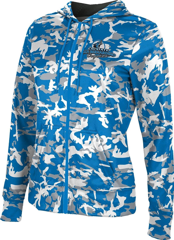 School Spirit Sweatshirt Digital California State University San Bernardino Girls Pullover Hoodie