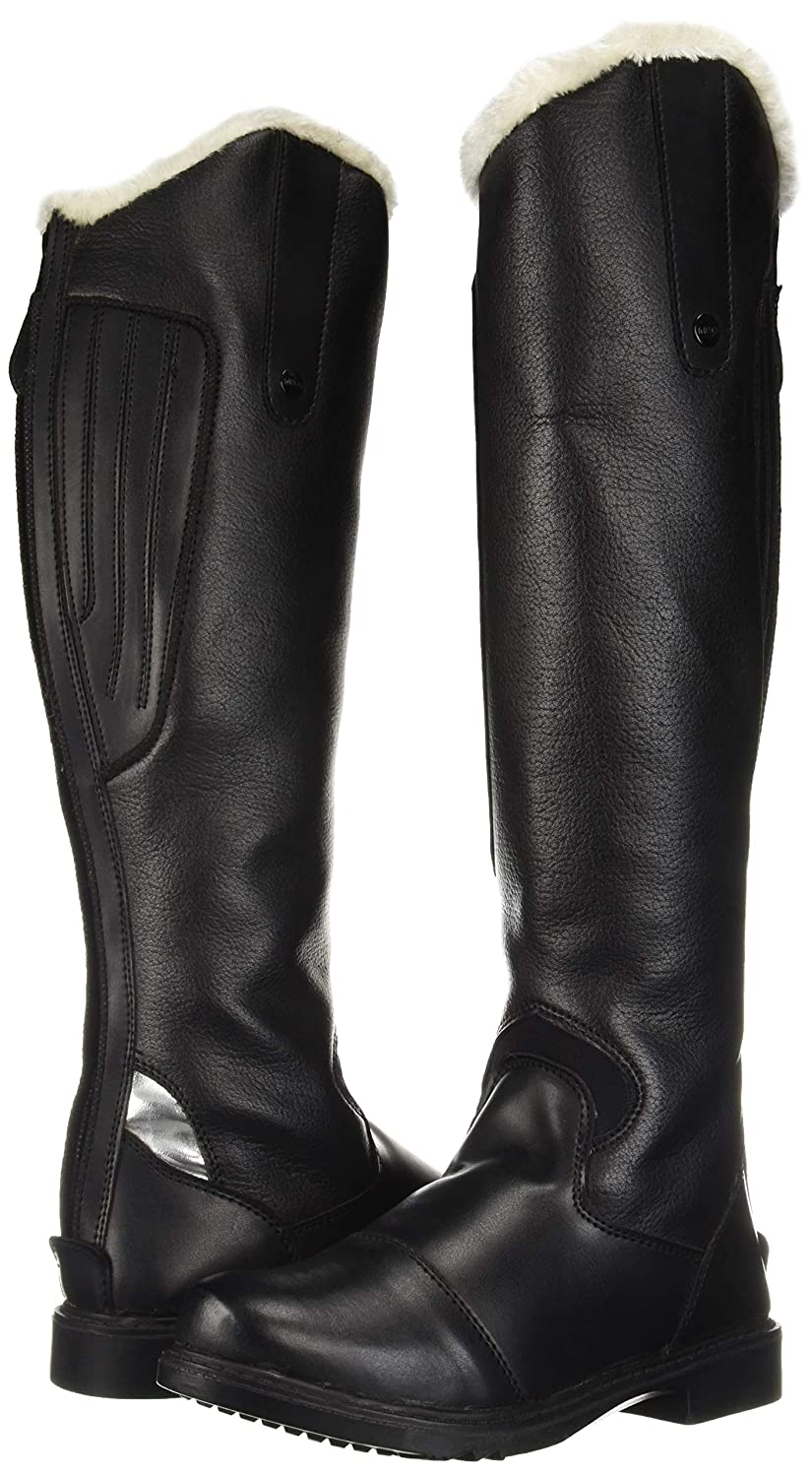 TuffRider Womens Tundra Fleece Lined Tall Boots in Synthetic Leather JPC Equestrian Sporting Goods 3060-P