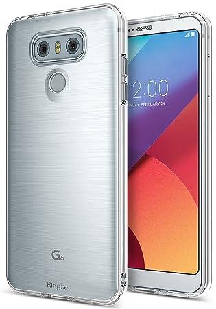 Ringke Funda LG G6 / G6 Plus [Air] Carcasa Protectora Resistente a los arañazos de TPU Flexible Suave y Transparente Extremadamente Ligera y Fina – ...