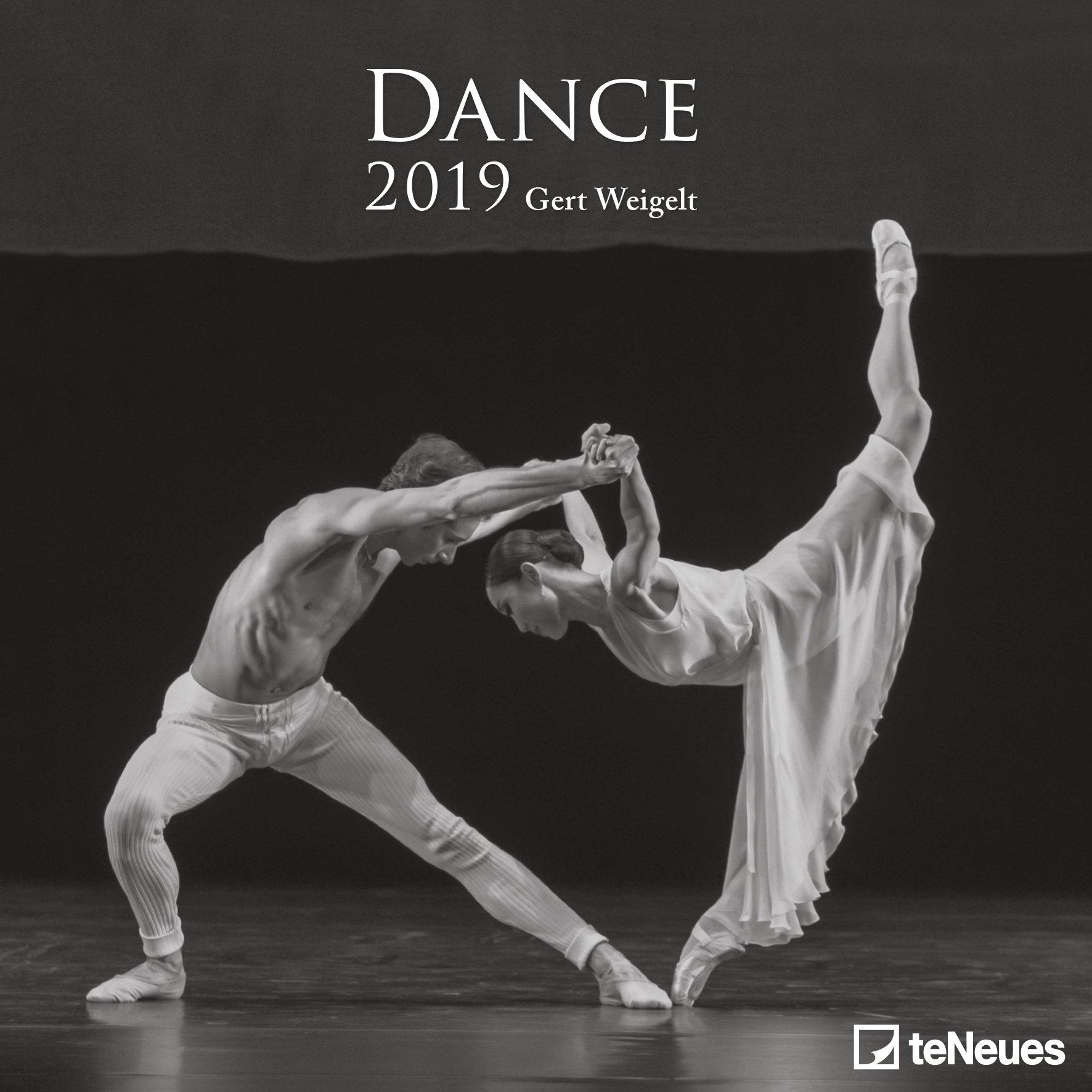 2019 dance calendar photography calendar 30 x 30 cm amazon co