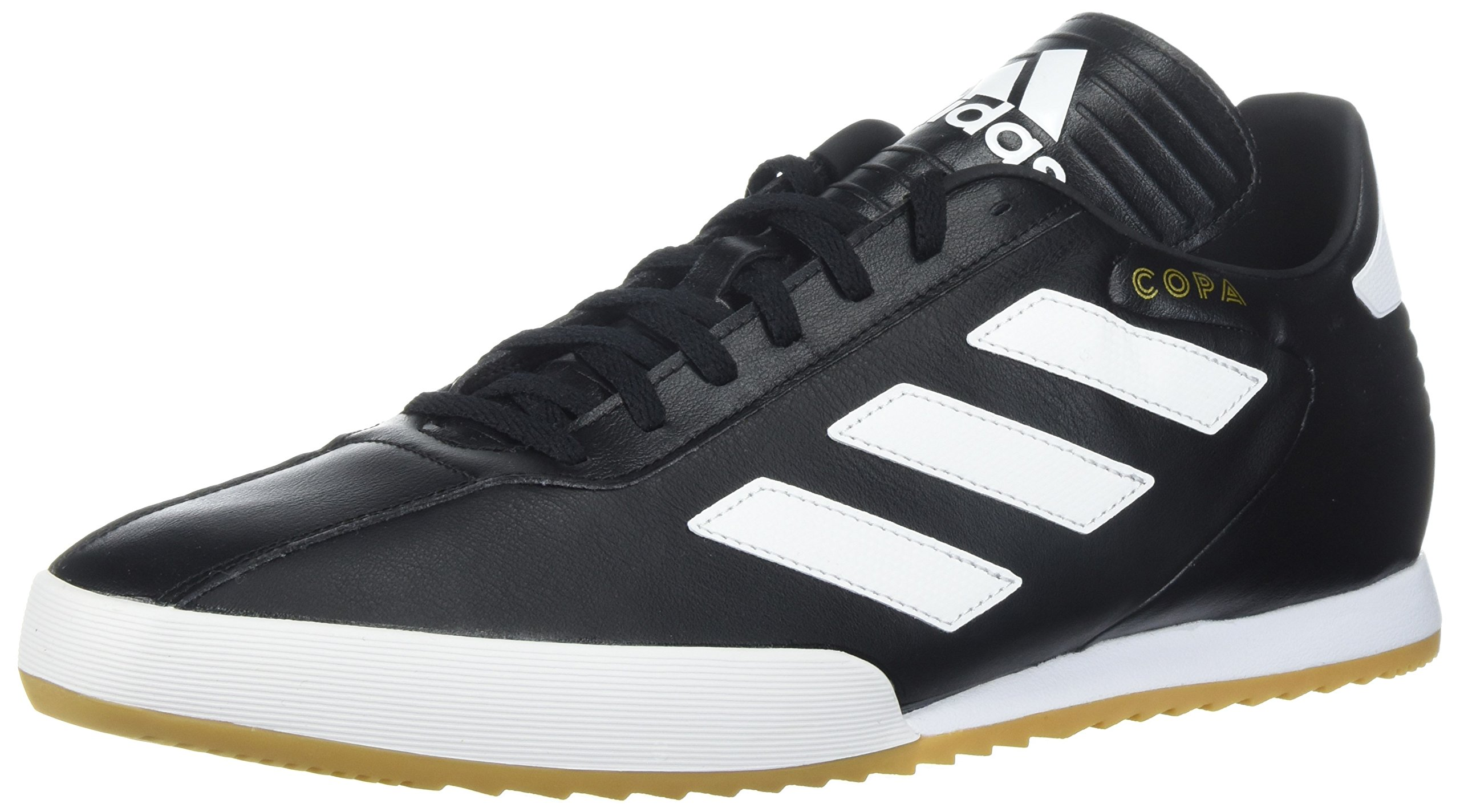 adidas Originals Men's COPA Super Soccer Shoe, Black/White/Gold Metallic, 11 M US by adidas Originals