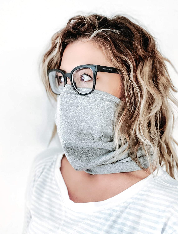 Eyeglass-Compatible Simple Mask
