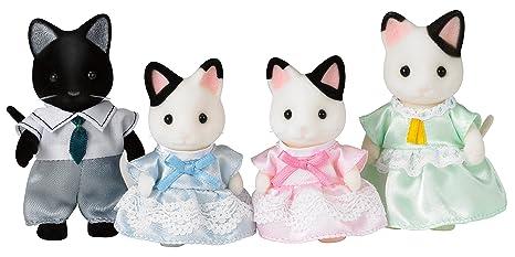 Amazon.es: Sylvanian Families-5054131051818 Animales Familia Gatos Esmoquin Epoch para Imaginar 5181: Juguetes y juegos