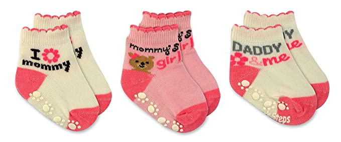 0-6 months Pair of Socks Clearance Baby Socks Rose Baby gift