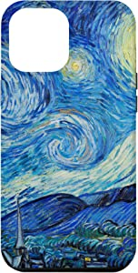 iPhone 12 Pro Max Starry Night Painting Vincent Van Gogh Art Case