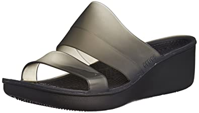 4014e44af63 crocs Women s Colorblock W Wedge Sandal