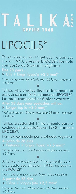 Cuidado de los ojos - Pestaña y Ceja de Gel Tratamiento de pestañas LIPOCILS Talika 10ml: Amazon.es: Belleza