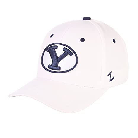 2b550db2baa Image Unavailable. Image not available for. Color  Zephyr Men s BYU Cougars  DH ZWOOL Fitted HAT ...