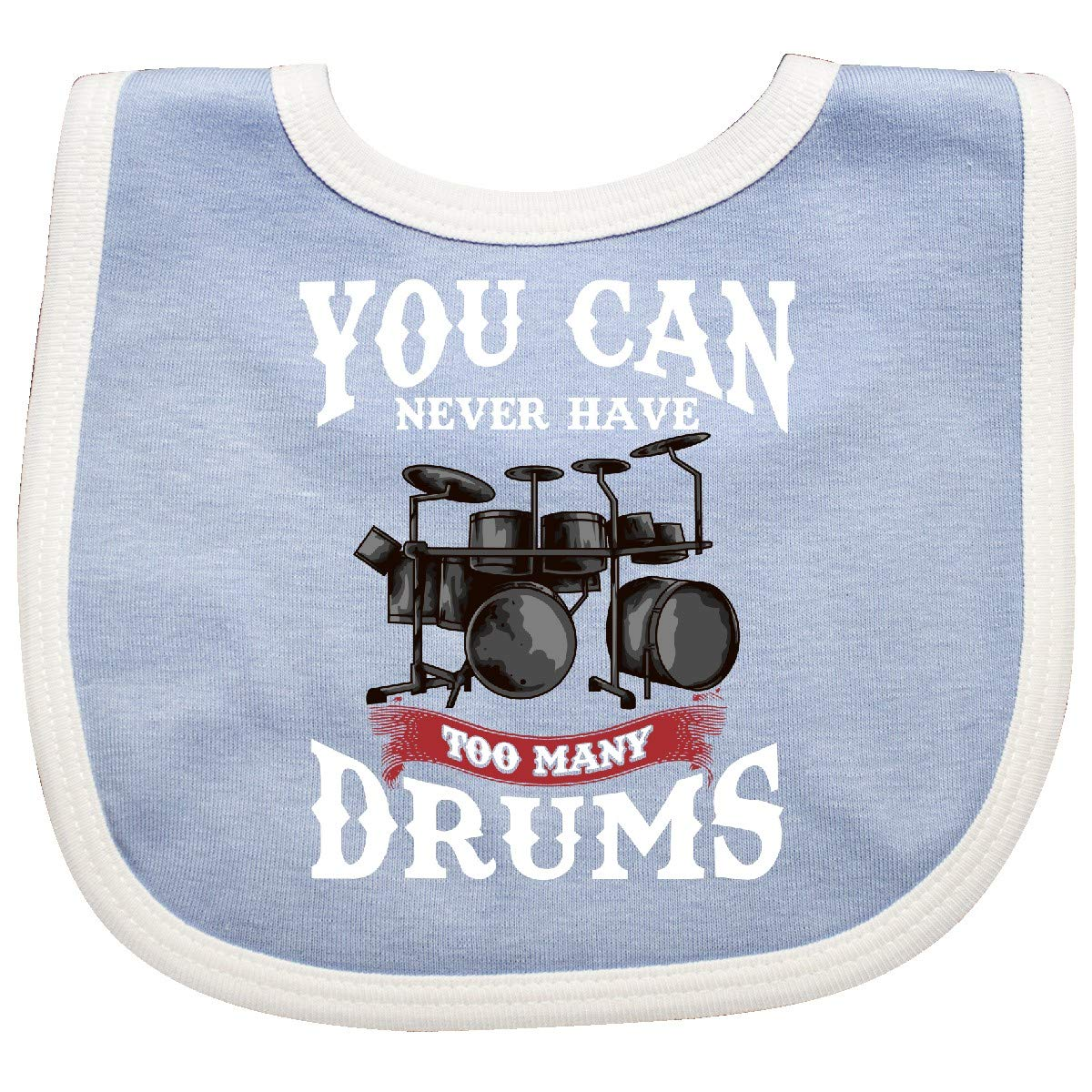 inktastic Drummer Funny Too Many Drums Music Joke Baby T-Shirt
