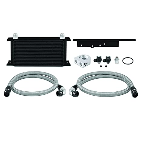 Mishimoto mmoc-350z-03bk Coupe Temperatura de aceite kit – negro