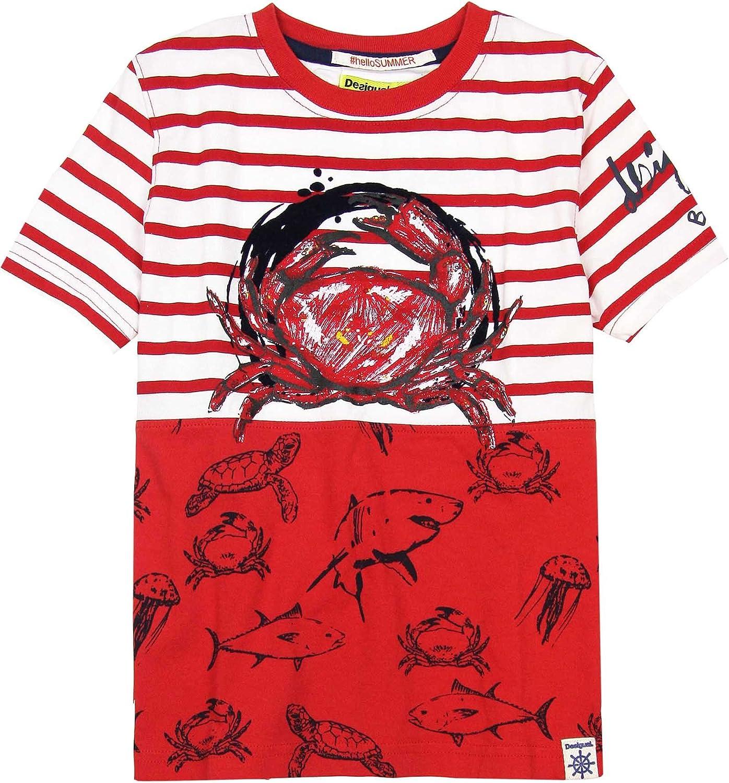 Desigual Boys/' T-shirt Stars Sizes 4-14
