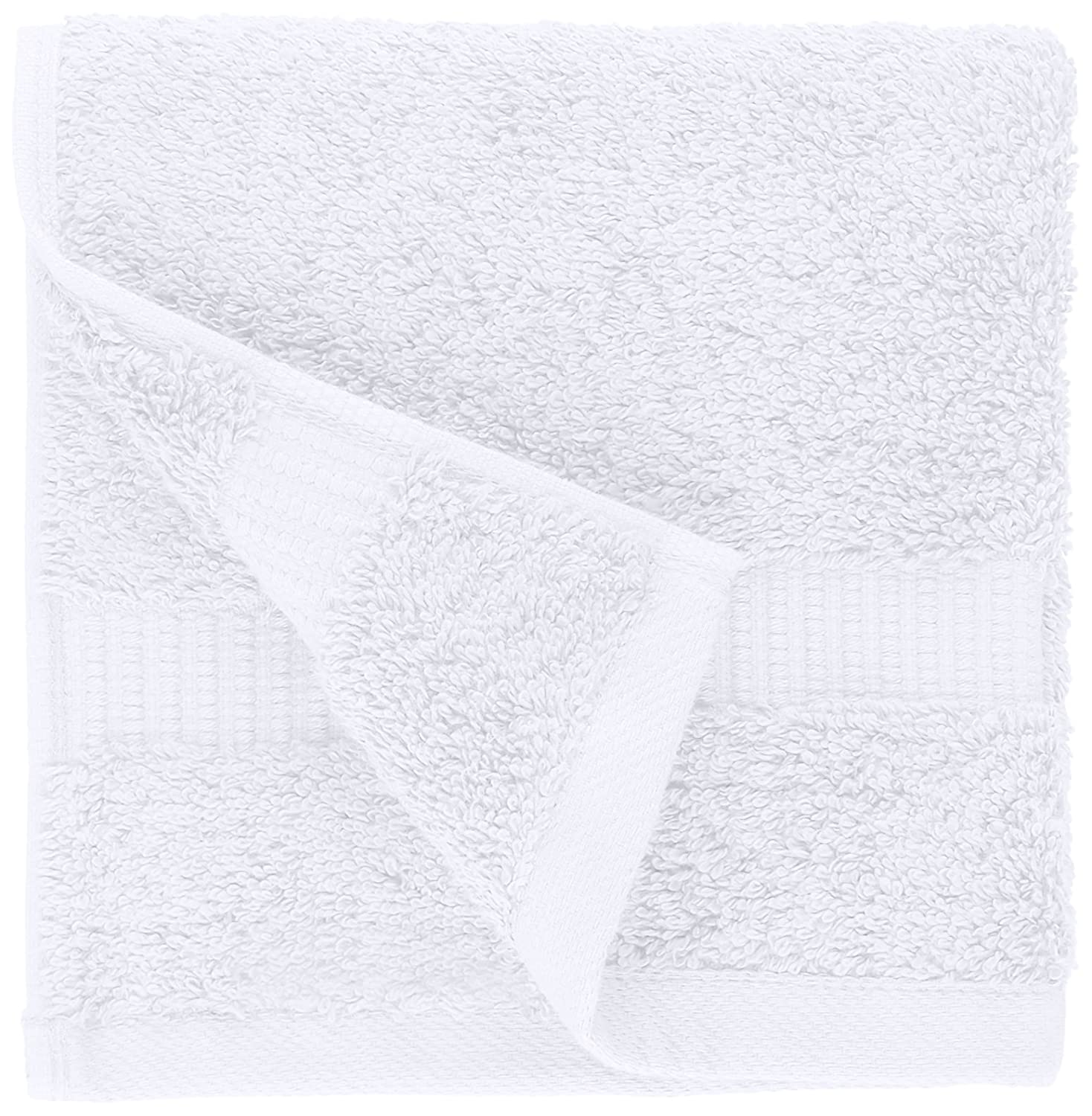 Pinzon Organic White Washcloth