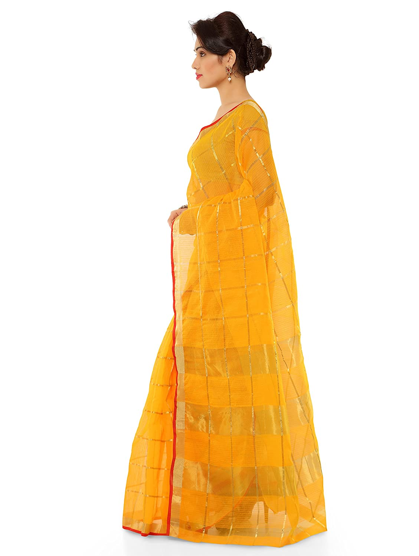 44ca9c98eb2c0 Kvsfab Women s Cotton Silk Saree