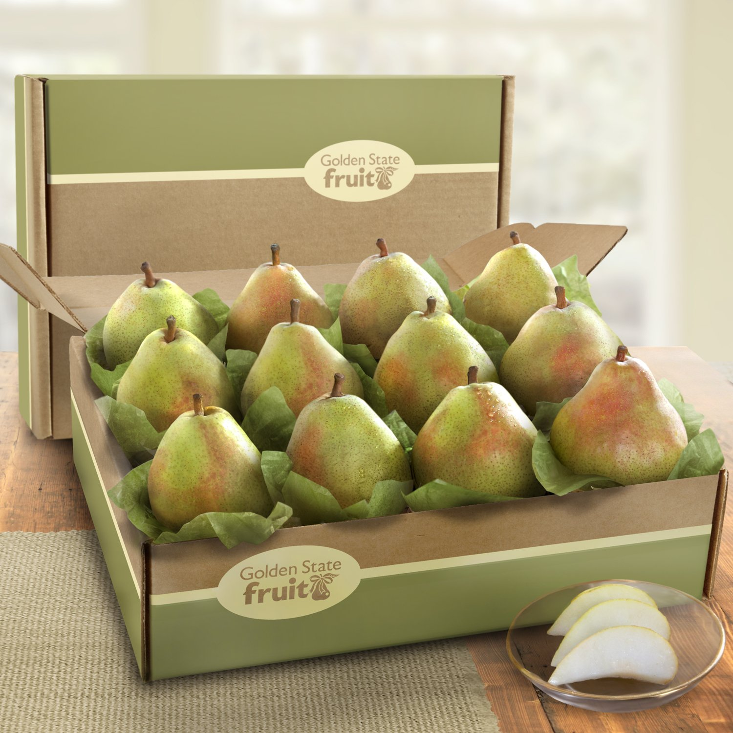 Imperial Comice Pears Ultimate Fruit Gift