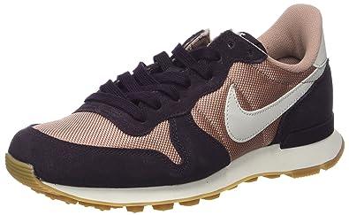 Nike Damen WMNS Internationalist Sneaker, Mehrfarbig (Particle Pink Light  Bone-Port Wine e3d107a01b