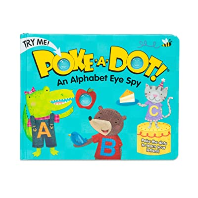 Melissa & Doug Children's Book - Poke-a-Dot: An Alphabet Eye Spy (Board Book with Buttons to Pop): Innovative Kids: Toys & Games