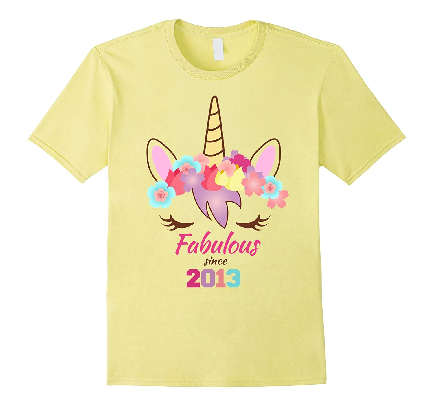 Unicorn Birthday Shirt 4th 5th