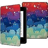MoKo Kindle Paperwhite Case - Custodia Origami Ultra Sottile per Amazon Nuovo Kindle Paperwhite (Adatto Tutte le versioni 2012, 2013, 2015 e 2016), Totoro