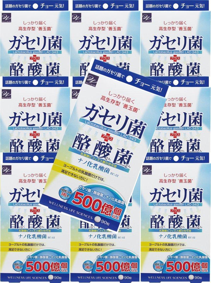 【10個セット】ガセリ菌+酪酸菌 90粒 B076SJNCK7