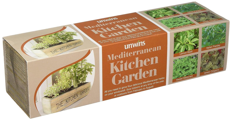 Unwins 32020085 Mediterranean Kitchen Garden Seed Kit Westlands Horticulture Ltd
