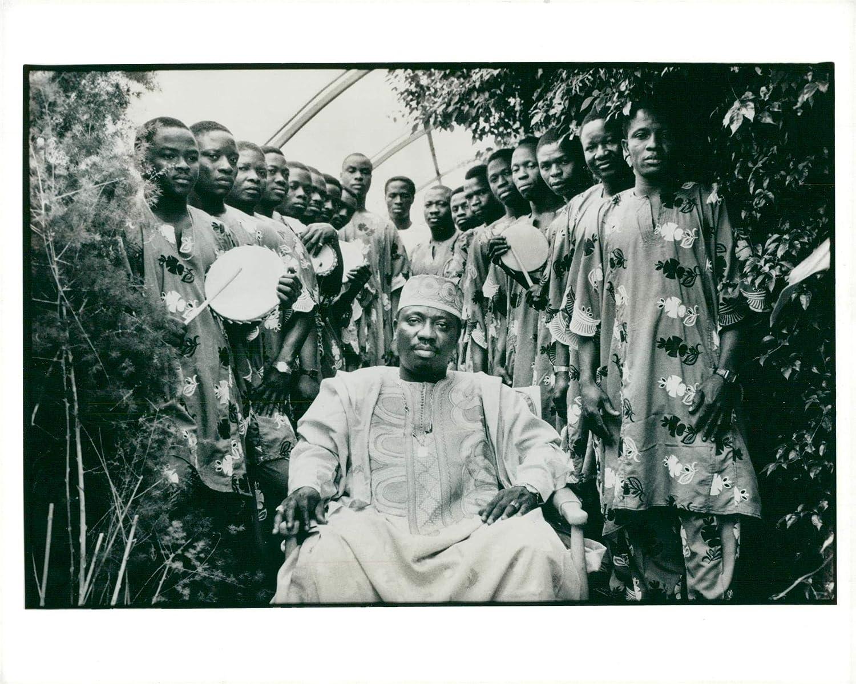 Amazon com: Vintage photo of Chief Doctor Sikuru Ayinde