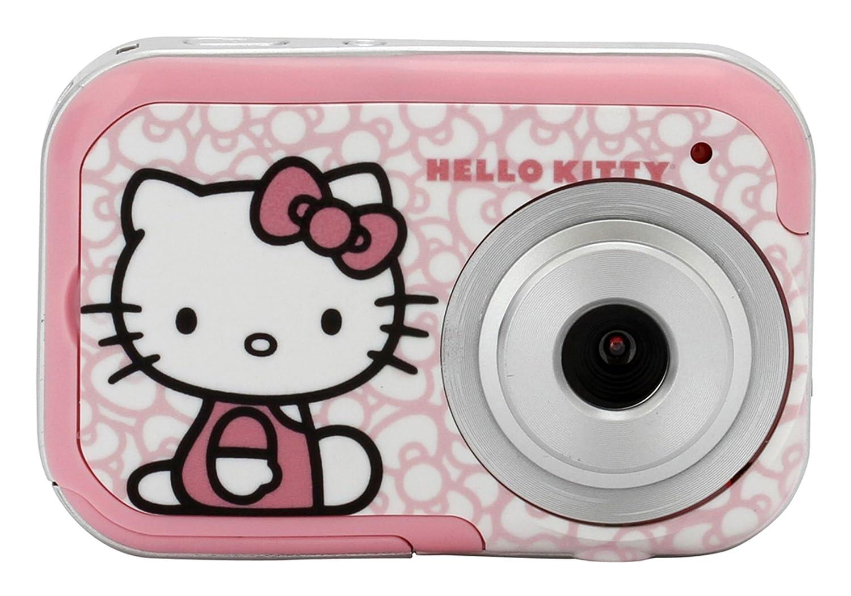 Vivitar Hello Kitty 82009 Digital Camera with 3 Plates (Pink)