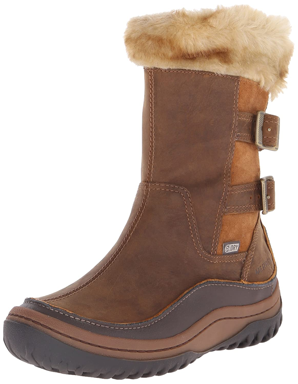 2e466ce7 Merrell Women's Decora Chant Waterproof Winter Boot Brown Sugar 9 B ...