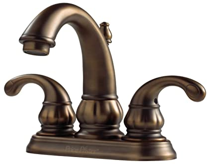 Pfister F048DV00 Treviso 2 Handle 4 Inch Centerset Bathroom Faucet In  Velvet Aged Bronze