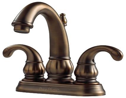 Pfister F048DV00 Treviso 2-Handle 4 Inch Centerset Bathroom Faucet ...