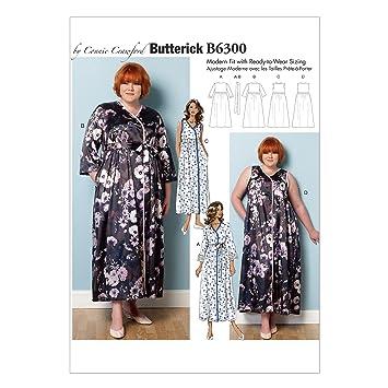Butterick 6300 Frau Größen 2 X Große – 6 x große Schnittmuster/Damen ...