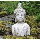 Busto de Buda Estatua de piedra jardín interior y exterior para efecto madera de Drift Ornament