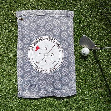Notjustaprint Golf Gift - Toalla de Golf con Nombre ...
