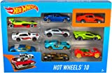 Hot Wheels 154213 Cars, Multi-Colour, Count 10
