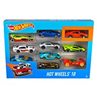 Hot Wheels 10-Car-Pack - Styles May Vary